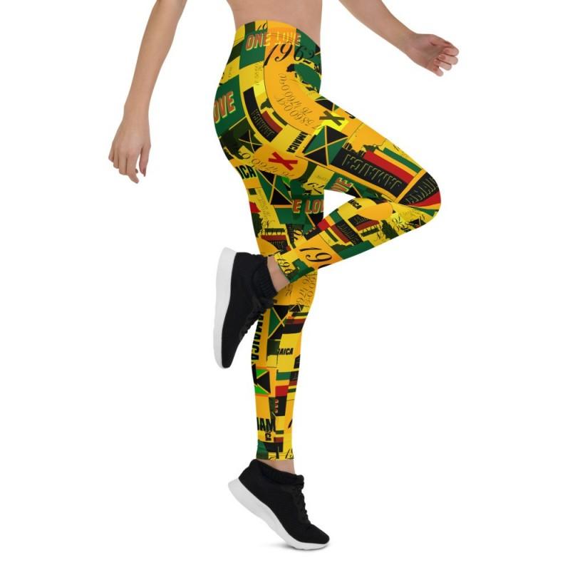 Tropical Flavor Print Leggings