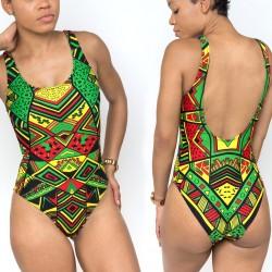 Jamaica Colors Striped Leggings