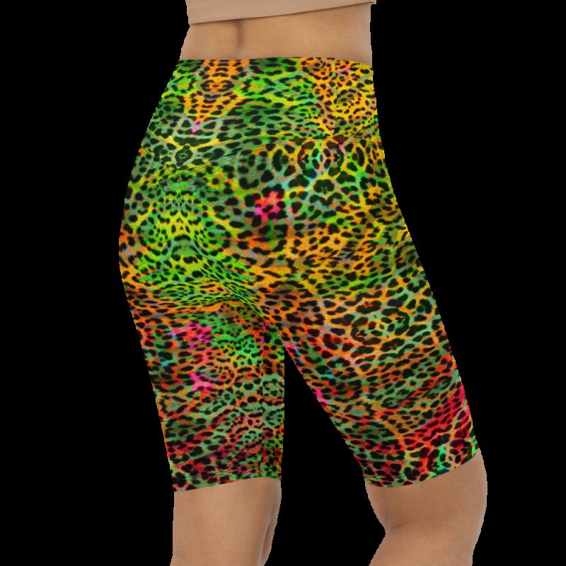 Aztec Pattern Multi Color Padded Sports Bra